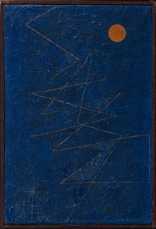 Paul Klee (1879 - 1940) -     Colourful lightning (Bunter Blitz), 1927 -       Kunstsammlung Nordrhein-Westfalen, Düsseldorf, Germany