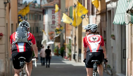 Italy: Biking in the Tuscan hills. Few things in this world live up to the hype. But everything you've ever heard about Tuscany is true. It's not a destination. It's an experience!