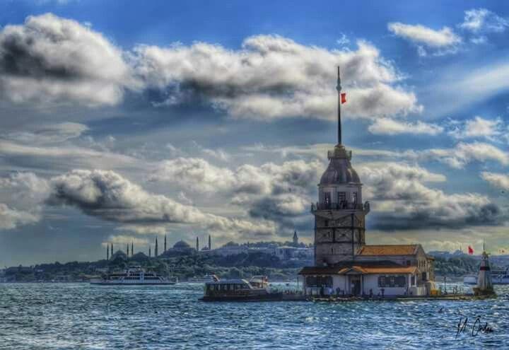 Girl Tower Istanbul Türkiye