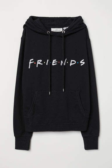 Hooded Sweatshirt with Motif – H&M clothes