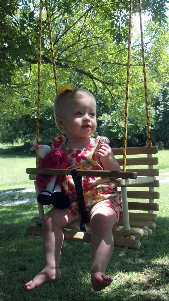 Childs swing toddler swing handcrafted wooden by Quarrydesigns, $38.00