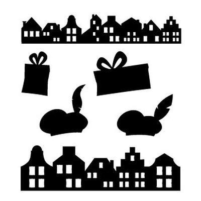 Bekijk de foto van W-H-Hooijer met als titel leuke silhouetten tbv sinterklaas decoratie en andere inspirerende plaatjes op Welke.nl.