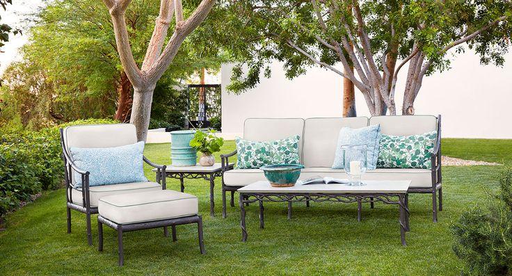 Luxury Patio Furniture Outdoor Furniture Garden Furniture Designer Furniture From Brown Jordan Luxury Interior