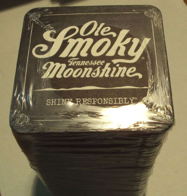 100 Ole Smoky Tennessee Moonshine Drink Coasters Sleeve Harvest Moon Punch New Sold $13.00