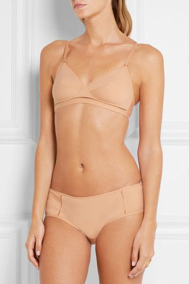Eres - Lumière Lydia Stretch-jersey Soft-cup Triangle Bra - Neutral