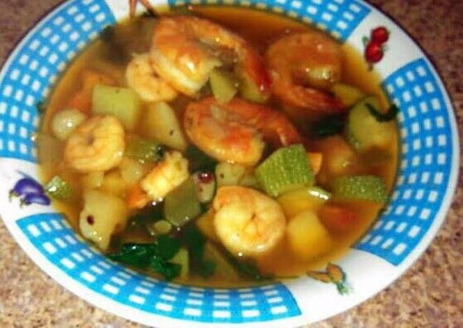 Caldo De Camarones Recipe -  Are you ready to cook? Let's try to make Caldo De Camarones in your home!