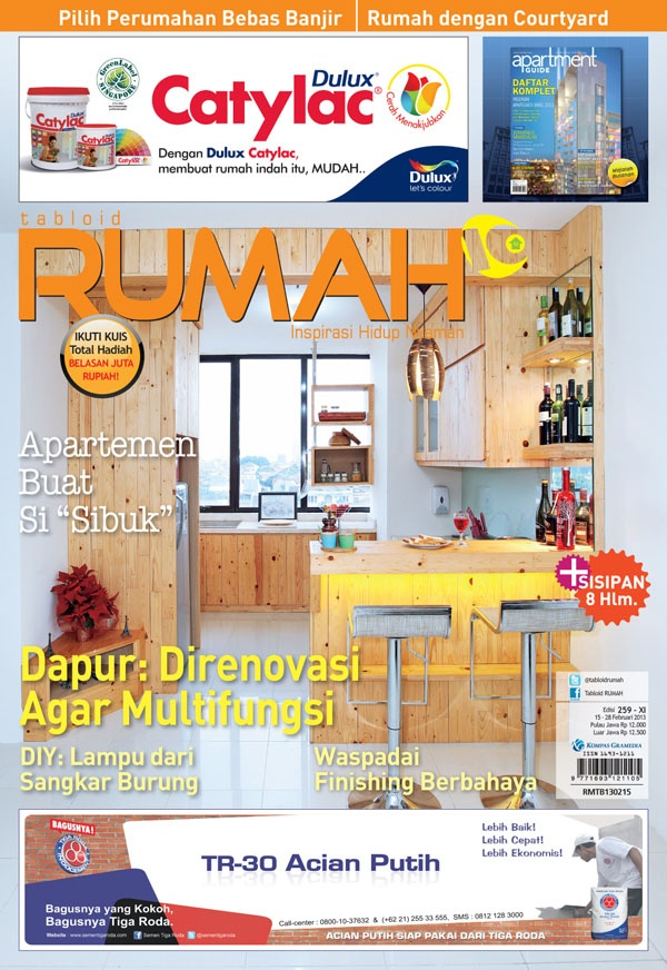 cover tabloid RUMAH 259