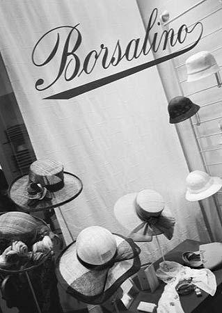 Italian Hat Shop Since 1857 (also in Paris)