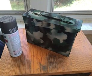 I will show you my method for easily painting camouflage on nearly any surface with cheap spray paint. You will need three colors of paint in a motif ...