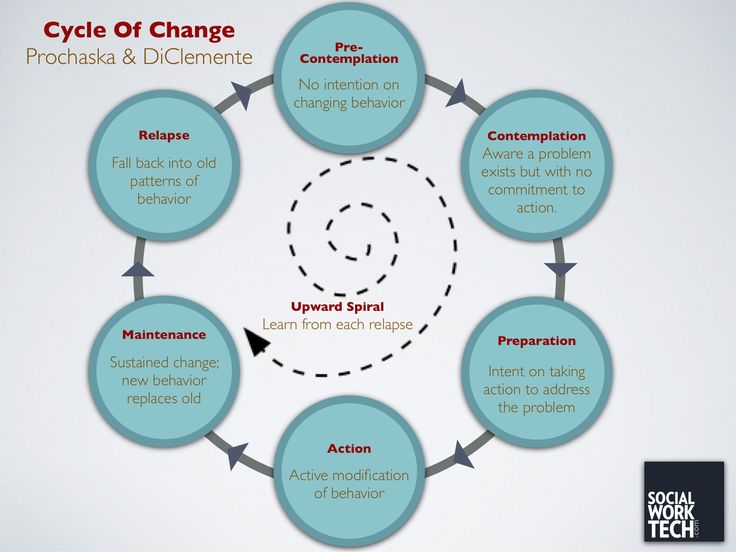 the cycle of change  leaders are experts at this