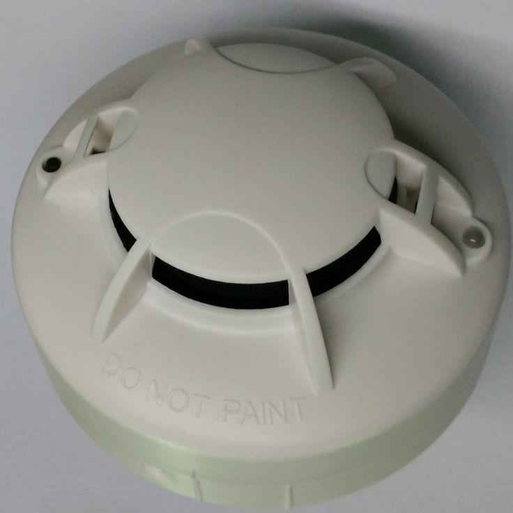 Аккумулятор dc 9 В и ПЕРЕМЕННОГО ТОКА 110-270 В Дымовой Пожарной Сигнализации Оптический Дымовой Извещатель DC9V & AC детектор дыма