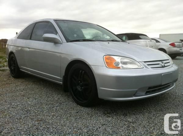 2002 honda civic coupe rims | 2002 HONDA CIVIC COUPE WITH ...