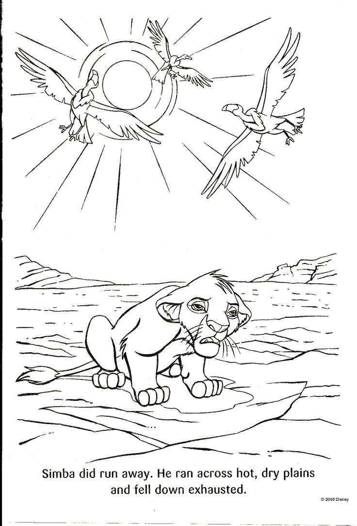 20 best the lion king images on pinterest coloring