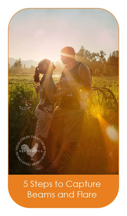 5 Tips for capturing sunbeams and flare, in camera - from Texas Chicks Blogs and Pics.