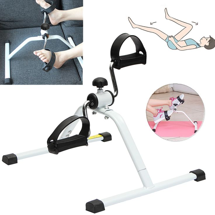 Adjustable Cycle Bike Exercise Gym Leg Arm Foot Rehab Fitness Slimming