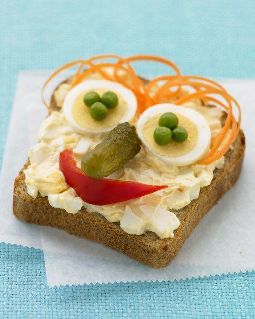"Open ""Face"" Egg Salad Sandwiches"