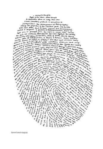 Imprint: Books Covers, Books Jackets, Covers Books, Awesome Books, 3D Books, Books Books, Covers Design, Fingerprints Art, Imprint Daniel Eatock