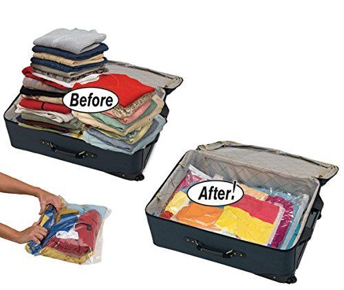 12 High Quality Space Saver Travel Roll-Up Storage Bags (12 pack of Sizes Small to Large) No Vacuum Needed, by EcoGreen Storage EcoGreen Storage http://www.amazon.com/dp/B011SONHMY/ref=cm_sw_r_pi_dp_tyBfwb1XBCBH5