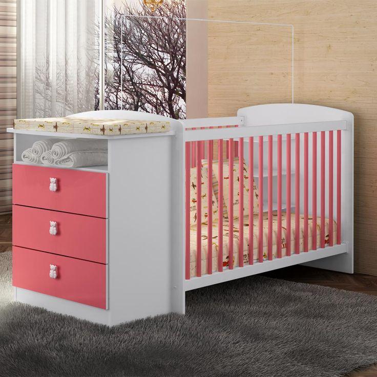 Gostou desta Berço Com Cômoda Encanto Be2025 Rosa - Art In Móveis, confira em: https://www.panoramamoveis.com.br/berco-com-comoda-encanto-be2025-rosa-art-in-moveis-6708.html
