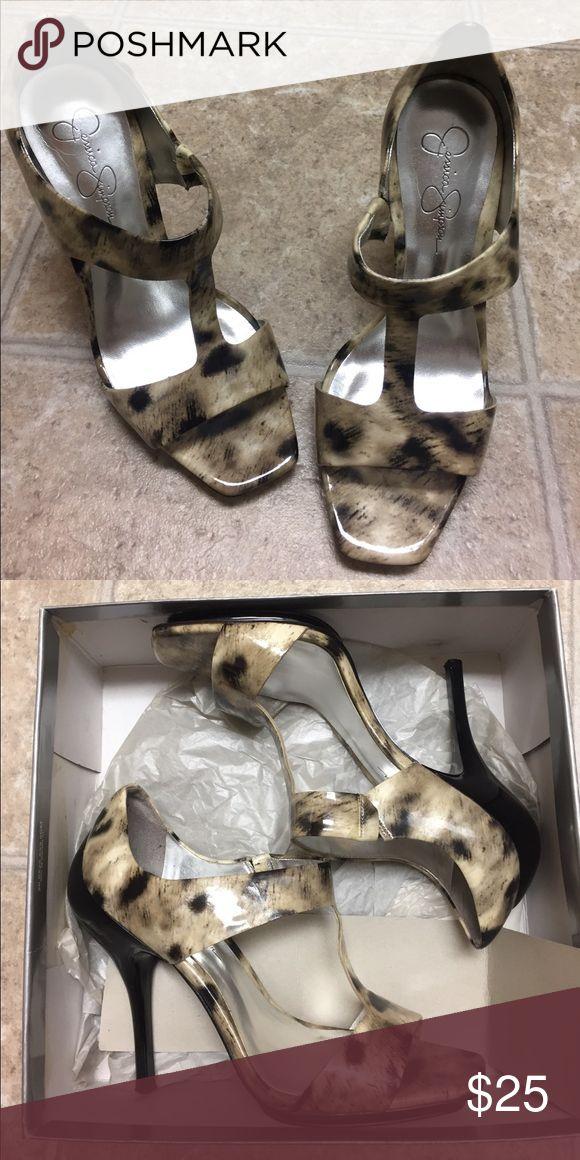 Jessica Simpson heels No scuffs or scrapes come in original box Shoes Heels