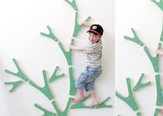 Creative ideas for you: Indoor Climbing Wall Idea for kids bedroom