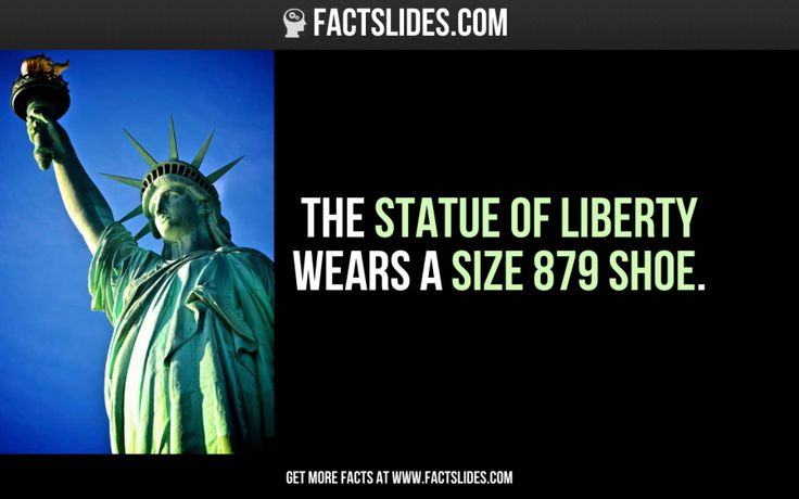 23 facts you didn't know about... THE STATUE OF LIBERTY