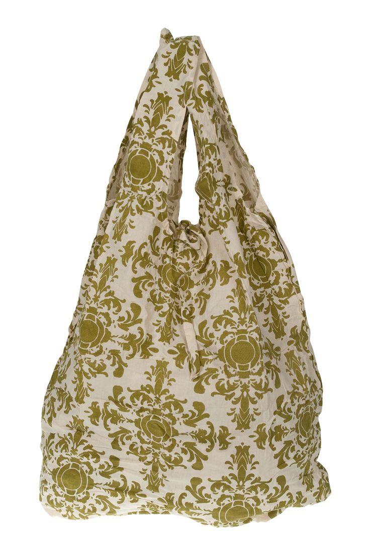 Apple Green Duck : Hampi Shopper Bag $12