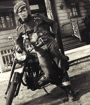 The Wild One: Motorcycles, Bike, Style, Marlonbrando, Movie, Leather Jackets, Marlon Brando, Photo, Wild One