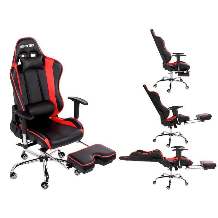 Merax High-Back Erogonomic Racing Style Computer Gaming Office Chair Recliner Yellow Deal  sc 1 st  Pinterest & 62 best Gaming Chairs images on Pinterest | Gaming chair Office ... islam-shia.org