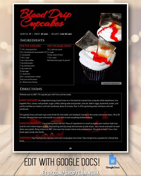 Pin by DAM WORK on Recipe Templates Pinterest Recipe book