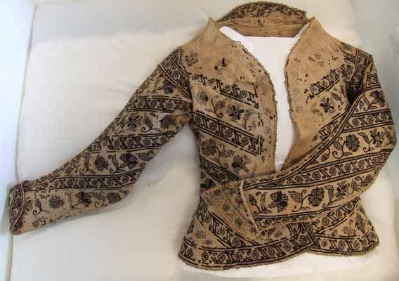 Blackworked jacket, England 1600-1625