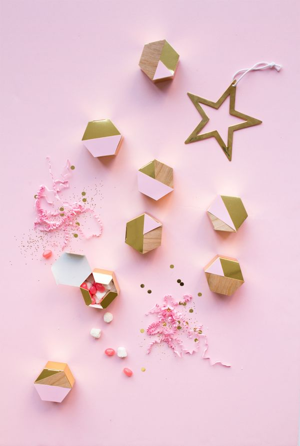 DIY Modern Hexagon Advent Calendar