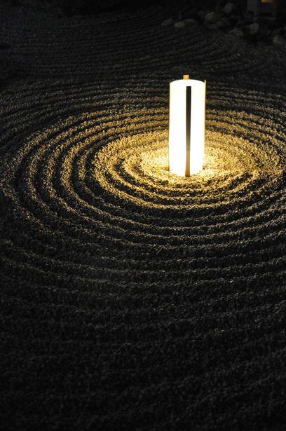 "A traditional Japanese garden ""KARESANSUI"""