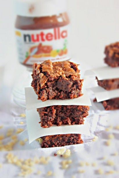 Crispy Nutella Brownies | Tasty Kitchen: A Happy Recipe Community!