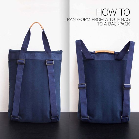 17 Best ideas about Tote Backpack on Pinterest | Working gear, Top ...