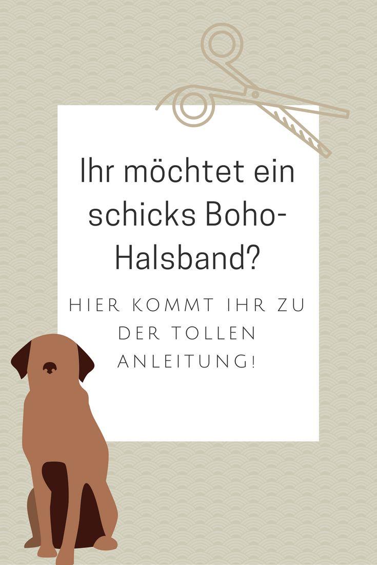 Die schicken Boho-Halsbänder kann man ganz einfach selber machen!