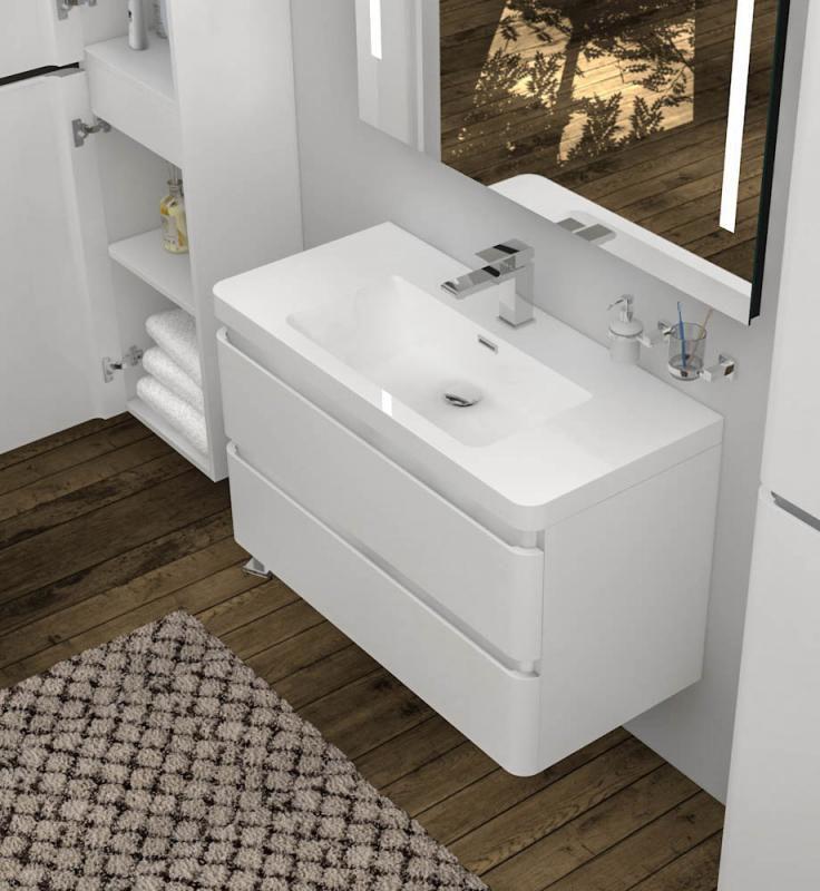 Treos Serie 920 Dieses Set Umfasst Ein Modernes Waschbecken