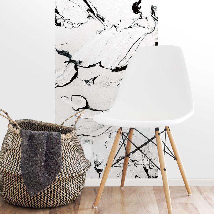 "papier peint effet marble ""marbre""  #marble #marblewallpaper #magneticwall #marbre #papierpeint #wallpaper"