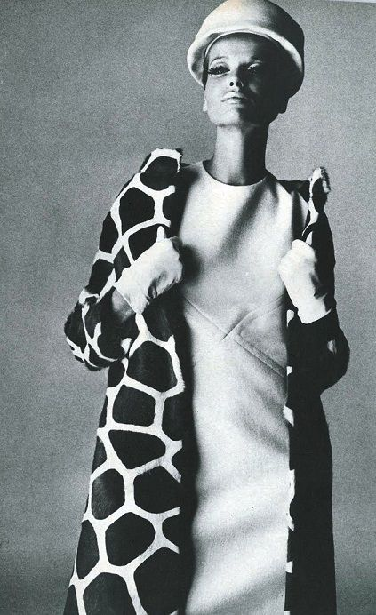 Veruschka in Guy Laroche, 1965