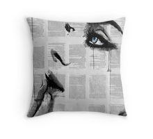 never know Throw Pillow