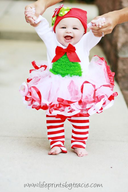 Holiday Christmas Tutu Outfit Set Mud Pie Baby Toddler