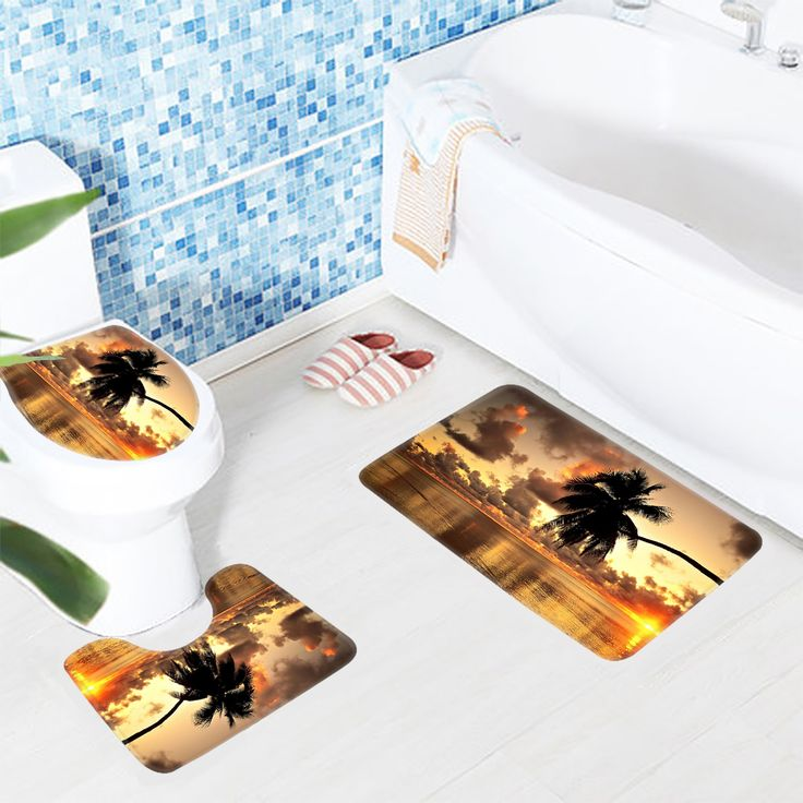 3pcs Bath Mat Sets Beach Alm Tree Sunrise Pattern Bathroom Mat Anti Slip Toilet Mat Soft Shower Mat -  Compare Best Price for 3pcs Bath Mat Sets Beach Alm Tree Sunrise Pattern Bathroom Mat Anti Slip Toilet Mat Soft Shower Mat product. Here we will provide the best deals of finest and low cost which integrated super save shipping for 3pcs Bath Mat Sets Beach Alm Tree Sunrise Pattern Bathroom Mat Anti Slip Toilet Mat Soft Shower Mat or any product promotions.  I hope you are very lucky To be…