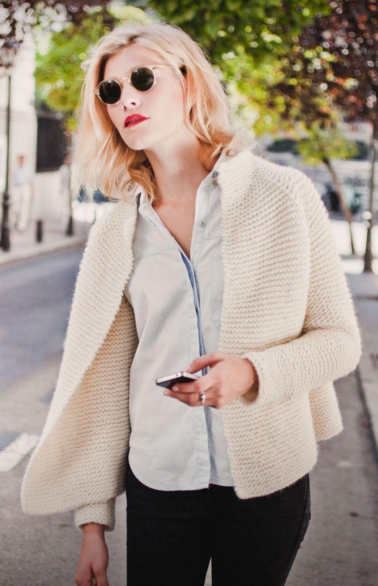 Martina Cardigan - Buy Wool, Needles & Yarn Cardigans - Buy Wool, Needles & Yarn Knitting kits | WE ARE KNITTERS $93