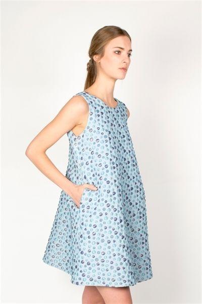 Dyan Dress  http://relatedapparel.com/Dyan-Dress.aspx  #relatedapparel #related #dress #pastel #fashion #blue #ootd