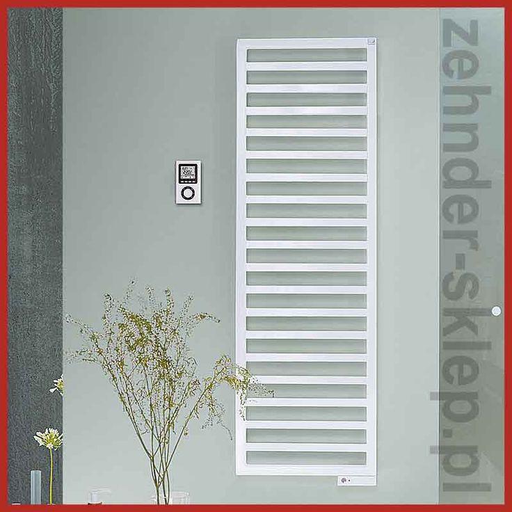 Zehnder Quaro 1403 x 450 lub 1433 x 450 przy zasilaniu wodno-elektrycznym  Grzejnik łazienkowy Zehnder Quaro zbudowany jest z ułożonych poziomo kwadratowych profili wramie