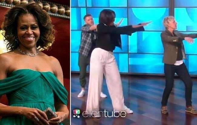 Primeira-dama dos Estados Unidos arrasa com coreografia ao som de 'Uptown Funk' - Primeira-dama dos Estados Unidos arrasa com coreografia ao som de 'Uptown Funk'
