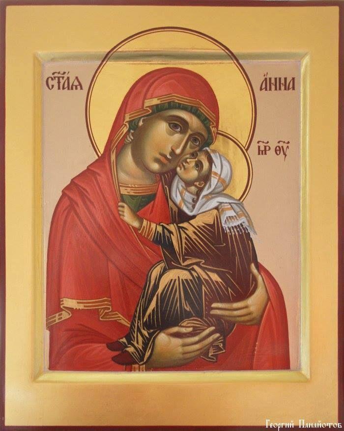 Ikoon van de heilige Anna