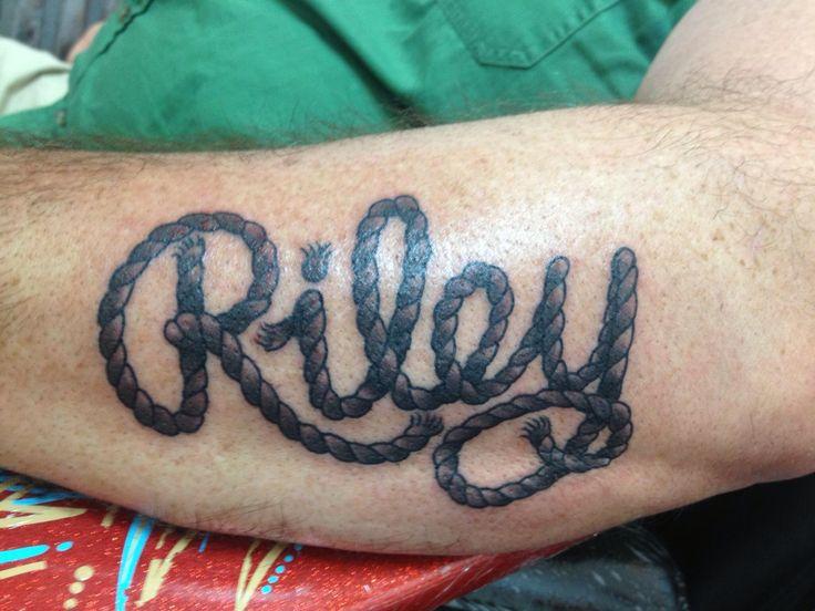 Riley's tattoo