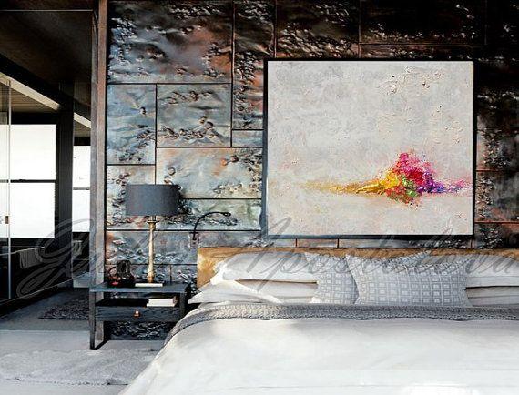 JuliaApostolova - valkoinen abstrakti maalaus #art #painting #homedesign #home #design #sisustus #sisustaminen #sisustusidea #taulu #taidetta
