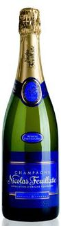 Champagne Nicolas Feuillatte Brut Reserve Particuliere is a good bargain bottle that pairs well with poultry